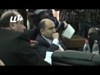 Выступление генерального прокурора Армении Геворга Костаняна в связи с трагедией в Гюмри 22 января 2015 года