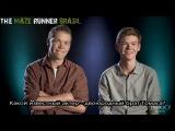 Интервью Уилла Поултера и Томаса Сангстера для Yahoo Movies RUS SUB - часть 2.