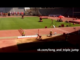 Nazim Babayev SICK Triple Jump  PB Baku 2014
