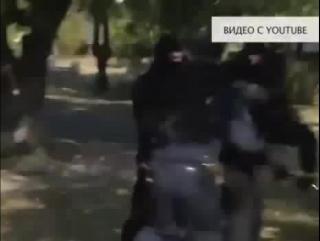 Киевлянин избил напавшего на него боевика «Правого сектора»